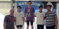 La natación también obtuvo sus candidatos para competir en las finales nacionales de los Evita....