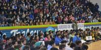 Participan más de 1700 jóvenes de la final provincial en Chubut....
